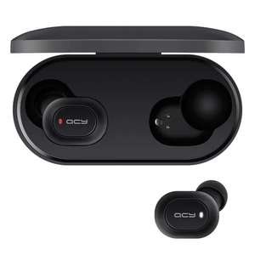 QCY T2C / T1S TWS Bluetooth Earphones Binaural Wireless Earbuds - Black £15.98 @ Gearbest