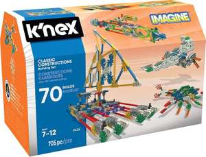 K'Nex 17435 Classic Constructions 70 Model Building Set Toy, Multi @ Amazon £22.49 Delivered