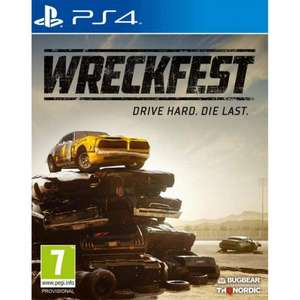 Wreckfest PS4 & Xbox One (pre-order for 27/8/19) @ TheGameCollection