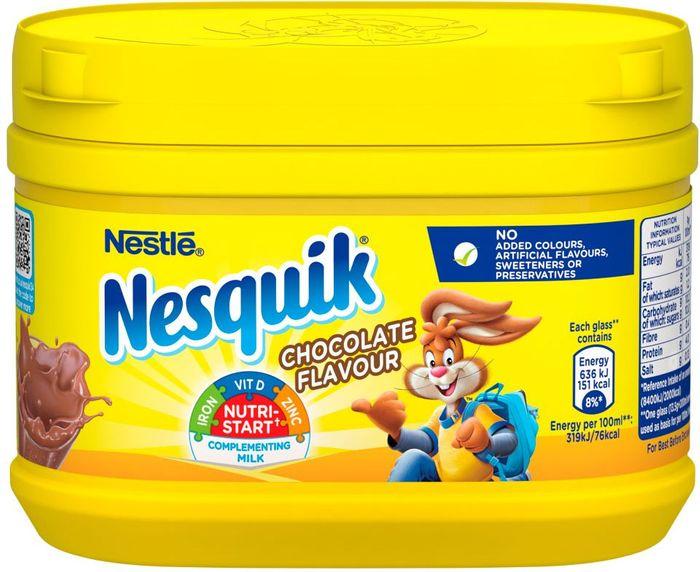 Nesquik Chocolate Milkshake Mix 300g £1 @ Asda