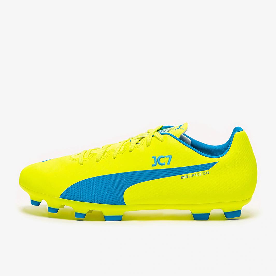Puma evoPOWER 5.4 SG - Fluorescent Yellow/Prism Violet £12.95 Delivered using code @ PRO:Direct Soccer