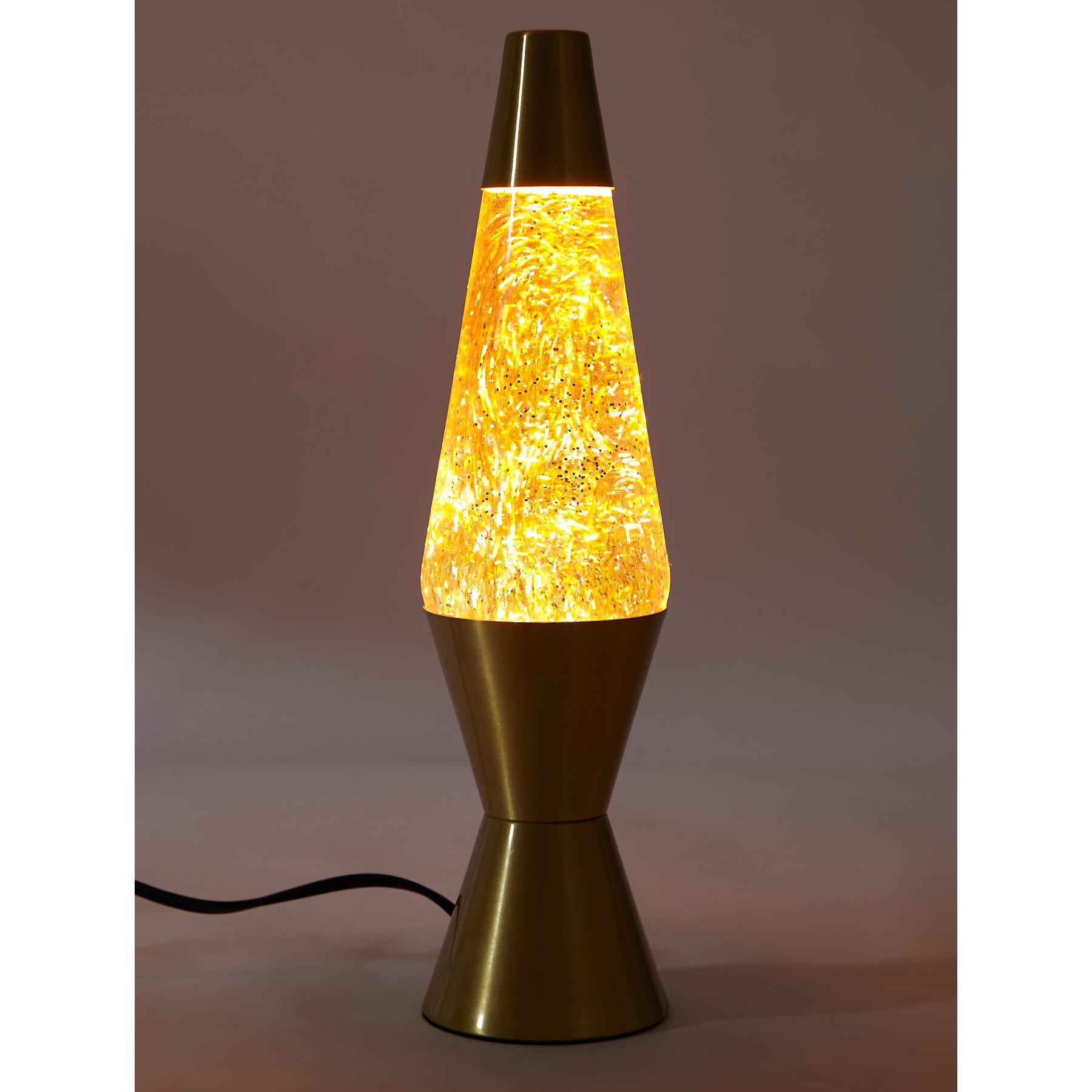 Lavalite Rainbow Glitter Lava Lamp - £12 at George
