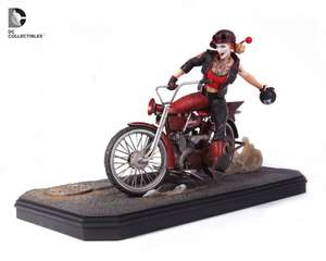 DC Collectibles DC Comics Batman Gotham City Garage Harley Quinn Statue £51.98 @ Zavvi