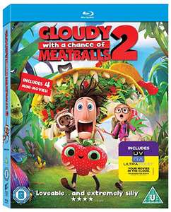 Cloudy with a Chance of Meatballs 2 3D Blu-Ray - £2.99 Sold by DVDBayFBA and Fulfilled by Amazon (+£2.99 non Prime)