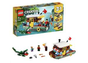 Half off on LEGO Creator 3-in-1 Riverside Houseboat (Normally £24.99) - £12.49 At Amazon with Prime (£16.98 without Prime)