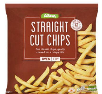 ASDA Straight Cut Chips - 33p instore