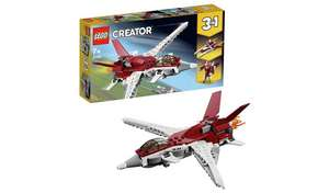 Half price on the LEGO Creator 3-in-1 Futuristic Flyer - £7.49 @ Argos