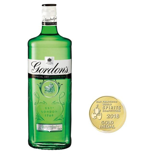Gordon's Dry Gin 1L £17 @ Sainsbury's
