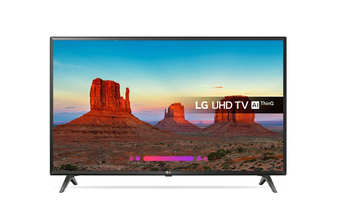 "49UK6300PLB 49"" LG ULTRA HD AI THINQ 4K TV £299 in-store @ Tesco"