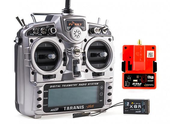 X9D Plus Inc R9M long range transmitter and X8R reciever - £155.63 at Hobbyking