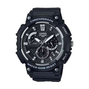 Casio Mens Classic Analogue Quartz Watch MCW-200H-1AVEF with Chrono Stopwatch for £24.99 Delivered @ 7dayshop