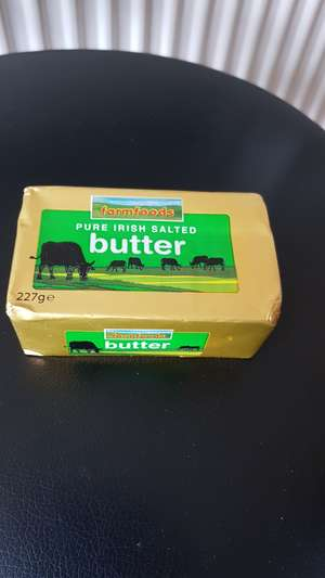 Farmfoods Pure Irish Salted Butter 0.99 each instore
