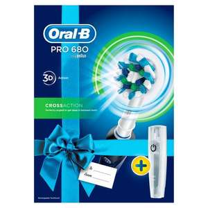 Oral-B Pro 680 Cross Action Black Electric Toothbrush - £23 @ Tesco Online & Instore