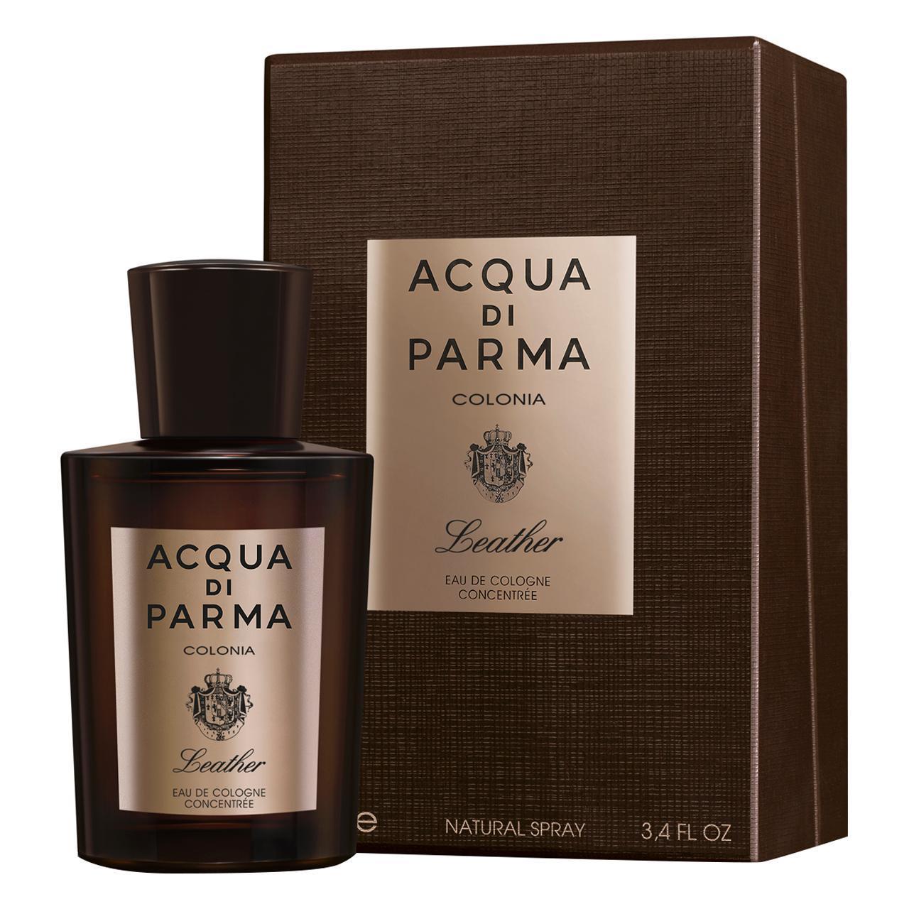 Acqua di Parma Colonia Leather Eau De Cologne Concentrée 100ml - £53 and other Fragrance Deals at Fabled (Marie Claire)