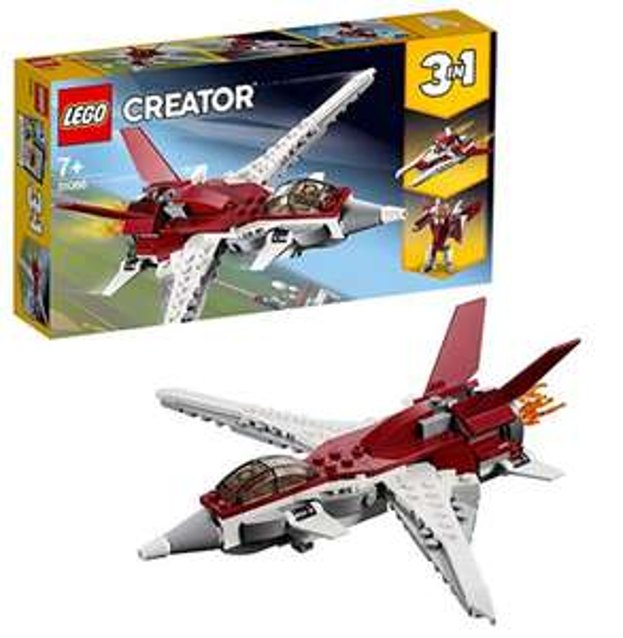 LEGO 31086 Creator 3-in-1 Futuristic Flyer Building Kit, Colourful - £7.49 at Amazon Prime / £11.98 Non Prime