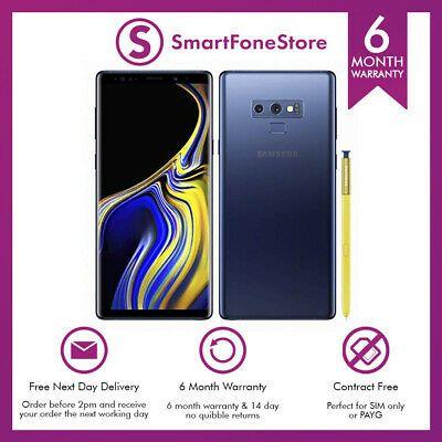 Samsung Galaxy Note 9 128GB (Unlocked) - Blue - Grade B - £399.99 @ Smartfonestore /Ebay