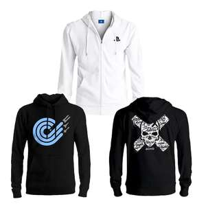 Official Wipeout League Logo Hoodie - £9.99 / Official Playstation Press X To Start Hoodies £9.99 Each Delivered @ Geekstore