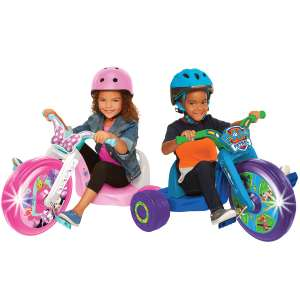 """Paw Patrol OR Minnie Fly Wheels 15"""" Junior Cruiser With LED Lights - £24.99 + FREE delivery @ Costco"""