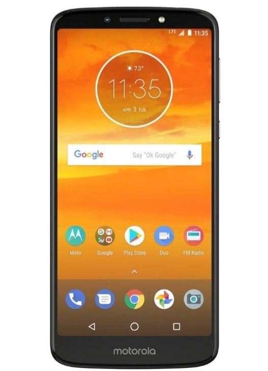 SIM Free Motorola E5 Plus Mobile Phone - Flash Grey £99 @ Argos