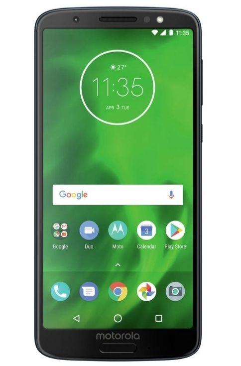 SIM Free Motorola Moto G6 32GB Mobile Phone - Deep Indigo £129.95 @ Argos