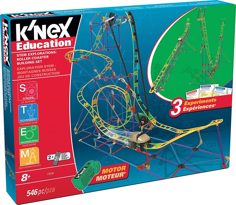 K'NEX Education STEM Explorations Roller Coaster Building Set, 546 Pieces - £19.99 (Prime) £24.48 (Non-Prime) @ Amazon