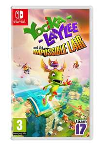 Yooka-Laylee and the Impossible Lair (Xbox One)/PS4 for £19.85 (Nintendo for £22.85) Pre Order @ Base