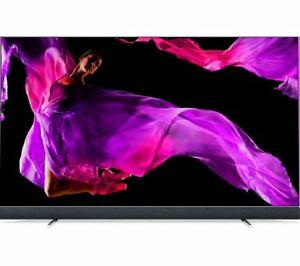 "PHILIPS 55OLED903/12 55"" Smart 4K Ultra HD HDR OLED TV with Soundbar £1499 plus £200 cashback with fibre broadband @ Currys"
