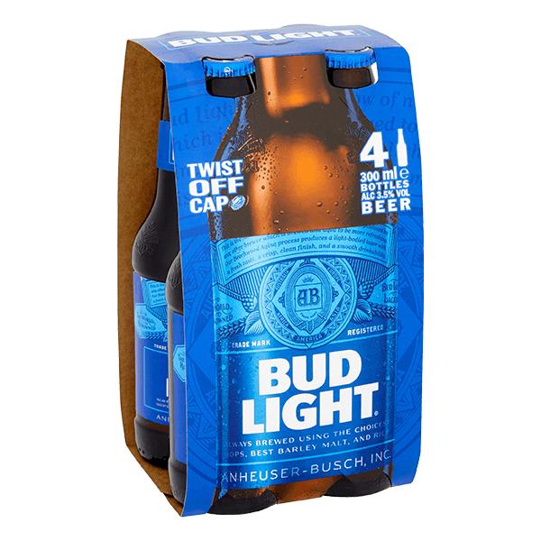 Bud light bargain booze now £1.99 @ Bargain Booze