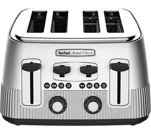 TEFAL Avanti Classic TT780E40 4-Slice Toaster - Silver or the Elusive Copper one £39.99 @ Currys & eBay Currys