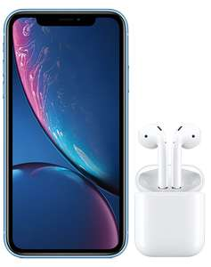 iPhone XR 64GB with AirPods £33/month for 36 months (1000 mins, unltd texts, 1GB data) - £1188 @ Virgin