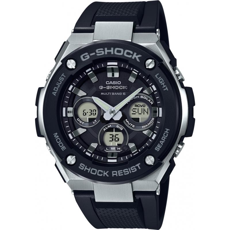 Casio Casio G-Shock G Steel Midsize Tough Solar Radio Controlled Black, £129 at Watches2U