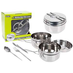 Stainless Steel 6 Piece Traditional Tiffin-Style Cooking Set @ Robert Dyas - £4.99 (Free C&C)