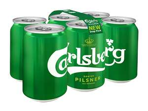 6 x 330ml Carlsberg £4 (Free after cashback) - Ocado/Tesco/Morrisons
