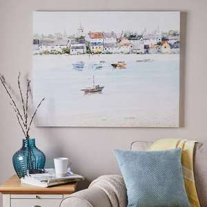 Large Dunelm Coastal Canvas - £2.50 Instore @ Dunelm (Bridgend)