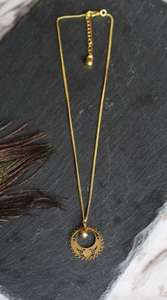 Gold Celestial Charm Layering Necklace - £2.49 Free Del @ SilkFred