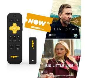 NOW TV Smart Stick with 2 Month Entertainment Pass or 1 Month Cinema Pass Now £14.97 at Currys