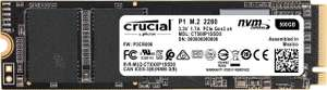 Crucial CT500P1SSD8 P1 500 GB (3D, NAND, NVMe, PCIe, M.2, Solid State Drive) for £54.56 Delivered @ Amazon UK