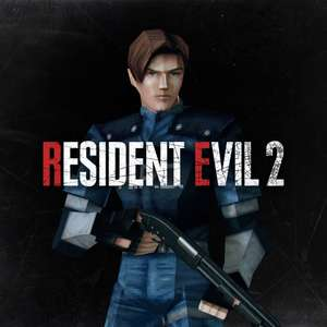 [PS4] FREE Resident Evil 2 Leon S. Kennedy 1998 Costume/ PS1 Character model (PlayStation Nostalgia)
