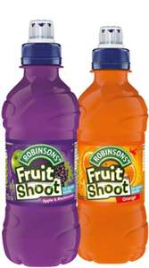 Fruit Shoots 24-Pack (48 in total) (2 for £10) @ Farmfoods