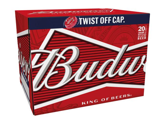 Budweiser Beer (20 x 330ml bottles) or Stella Artois Belgain beer (20 x 284ml bottles) at LIDL