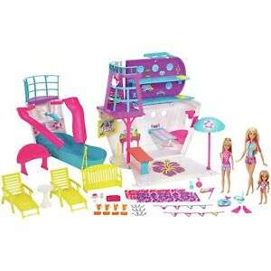 Barbie ship with 3 dolls and loads of accessories £29.99 delivered  ARGOS EBAY