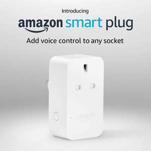 Amazon Smart Plug for £9.99 with code  (+£4.49 Non Prime) - Selected Accounts