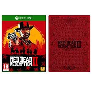 Red Dead Redemption 2 with Collectible SteelBook Xbox One & PS4 £33.99 @ Amazon