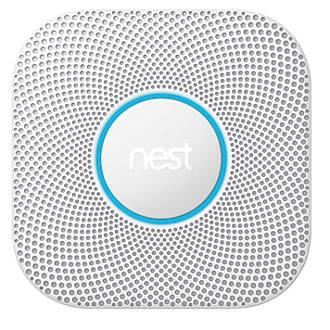 Nest Smoke and Carbon Monoxide Alarm Mains/Battery powered £88.99 Screwfix