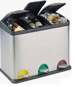Argos Home 45 Litre Recycling Pedal Bin with 3 Compartments - £39.96 + Free C&C @ Argos