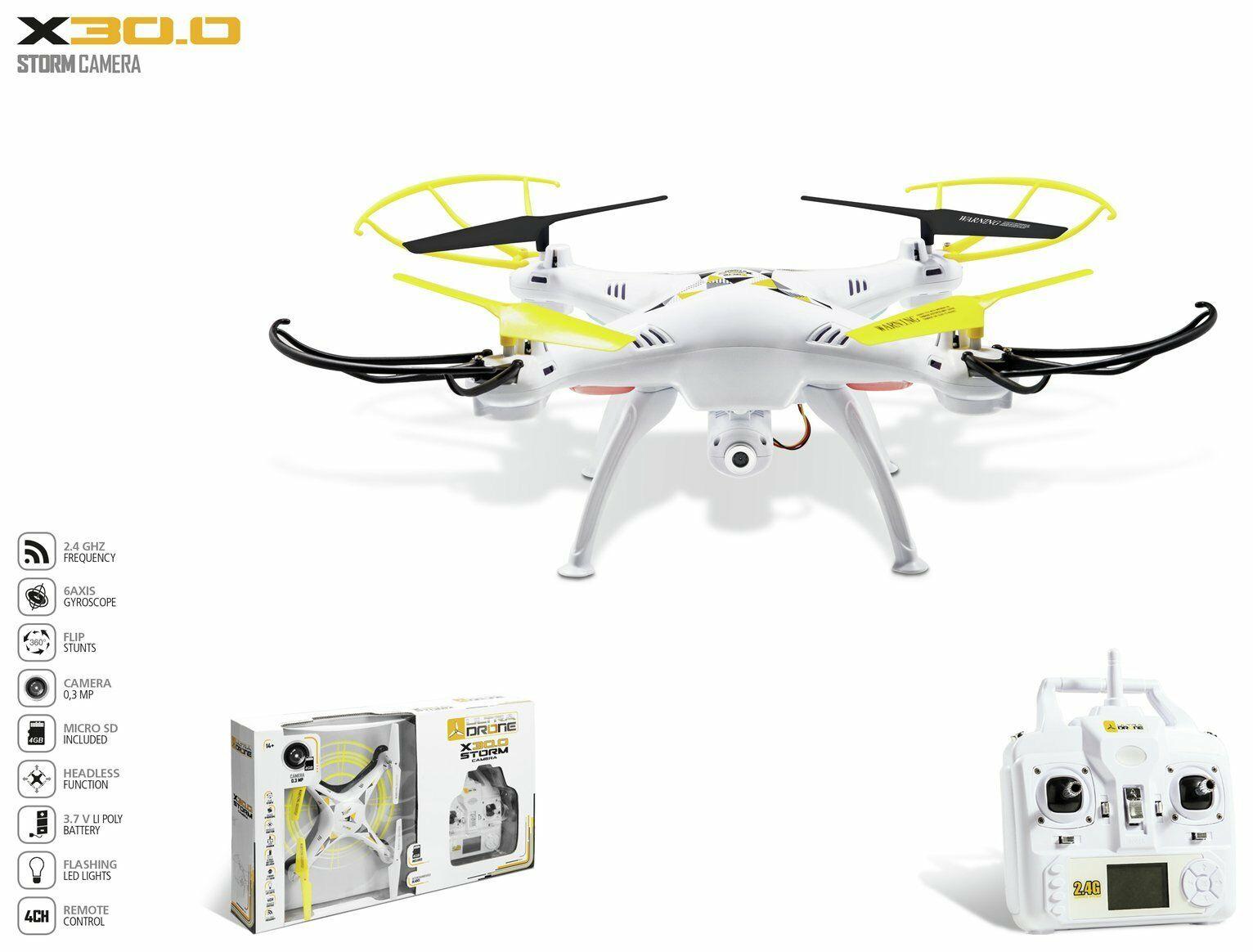 X30 Storm Camera Drone - £16.99 @ Argos eBay