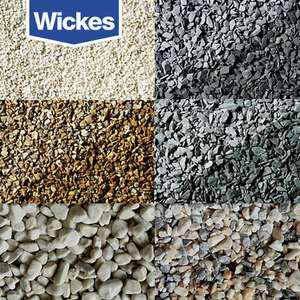 Wickes Decorative Stones - Major Bags for £5 each - Aprox 25KG @ Wickes - Free C&C
