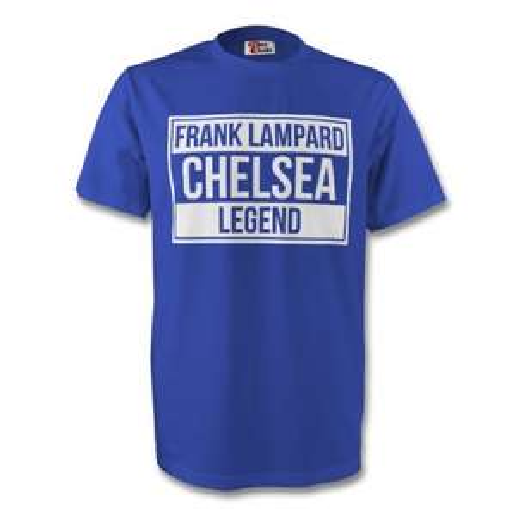 Frank Lampard Chelsea Legend Tee (Blue) £14 + £3.75 p&p UK Soccer Shop