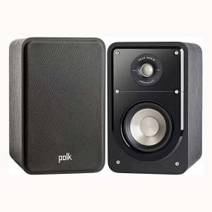 Polk S15-BLKWLNT HiFi Bookshelf Speaker £99 Delivered with code @ Hughes