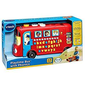 Vtech playtime bus reduced to £6.25 Instore at Tesco